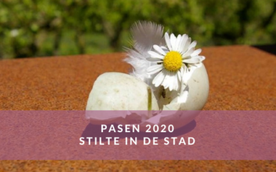 Pasen 2020. Stilte in de stad.