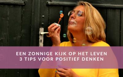 3 tips voor positief denken