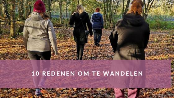 10 redenen om te wandelen